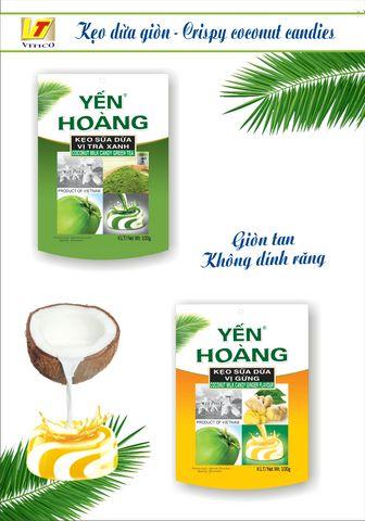 Công ty TNHH Vĩnh Tiến - lạ với kẹo dừa giòn Yến Hoàng